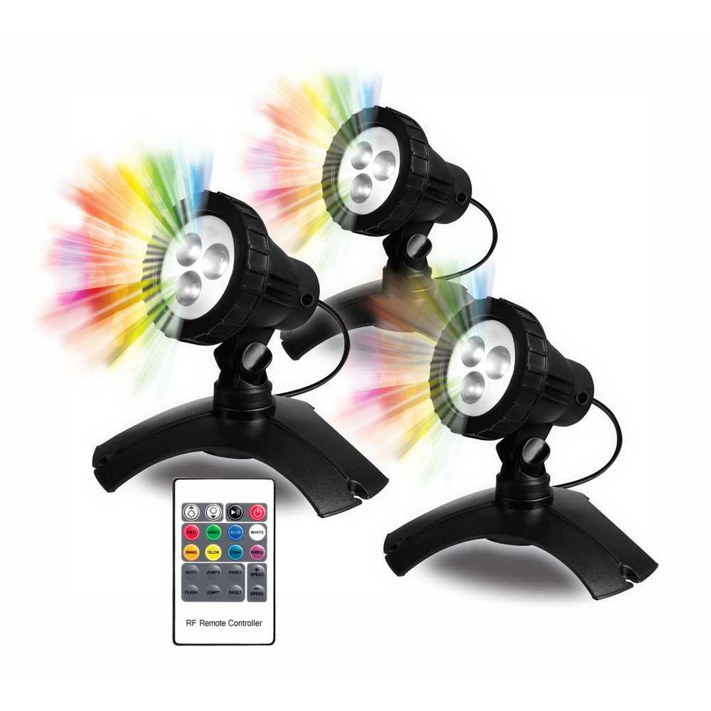 PondMAX Color Changing Underwater Lighting System