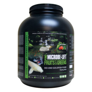 Microbe-Lift Fruits and Greens Fish Food Diet