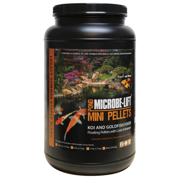 Microbe-Lift Mini Pellet Summer Staple Fish Food