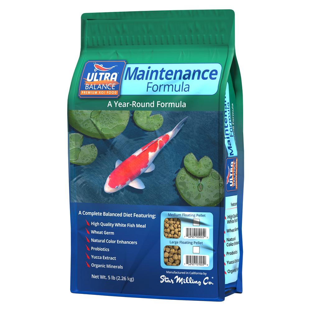 Ultra Balance Maintenance Formula Fish Food