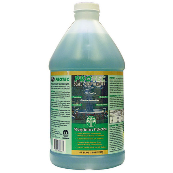 Protec Liquid Calcium Remover for Fountains