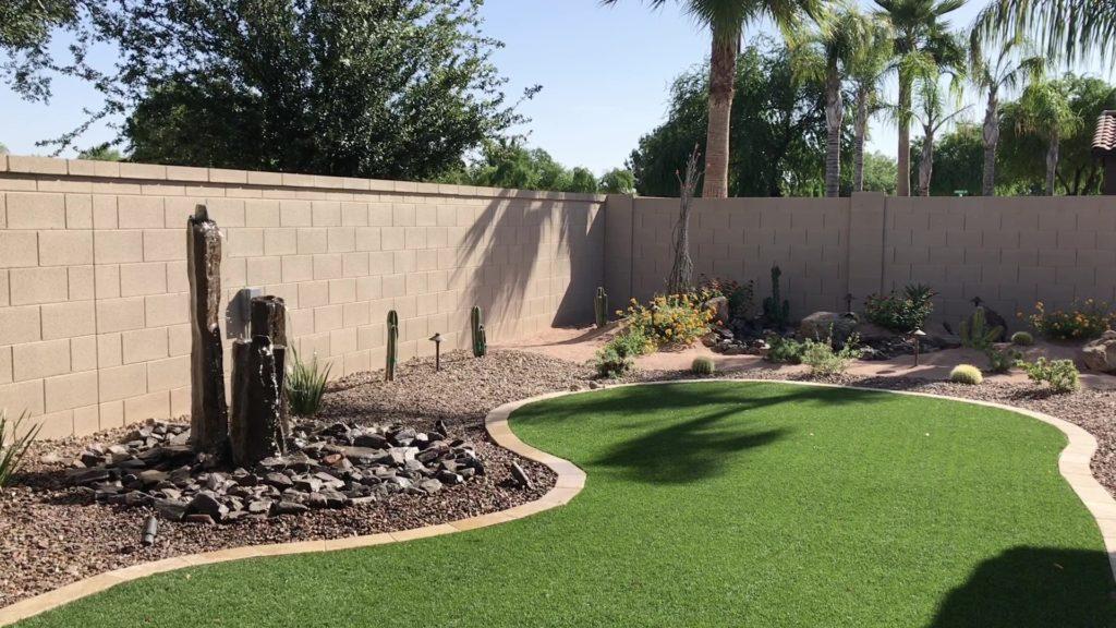 Backyard 3 Basalt Fountain